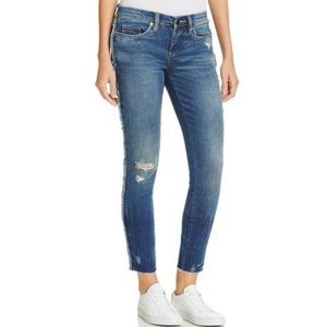 NWT Blank NYC Frays For Days Skinny Jeans